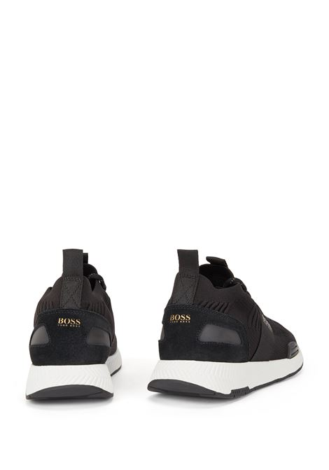Sock sneakers con tomaia in maglia REPREVE® BOSS | Sneakers | 50452034007