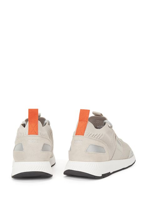 Sock sneakers con tomaia in maglia REPREVE® BOSS | Sneakers | 50452034275