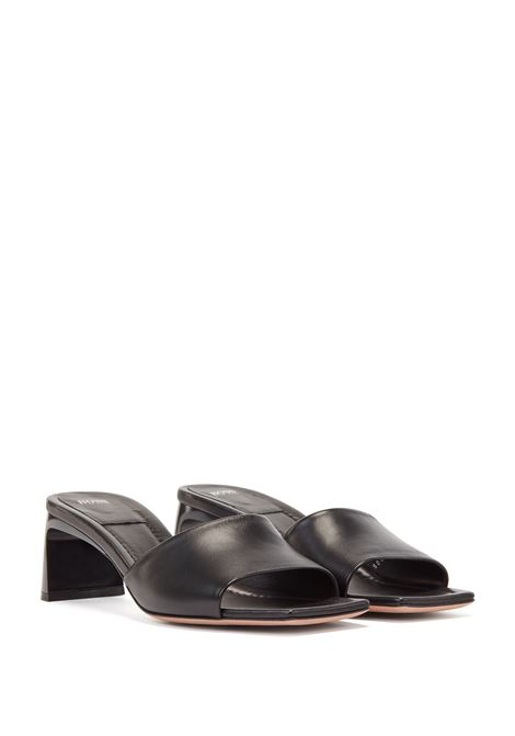 Mules made in Italy in nappa leather with square toe BOSS | Sandals | 50453047001