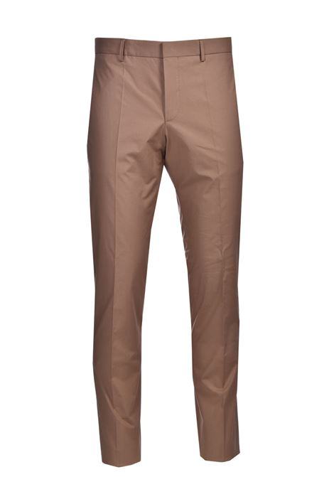 Slim fit trousers in stretch cotton with crease BOSS | Pants | 50453180268