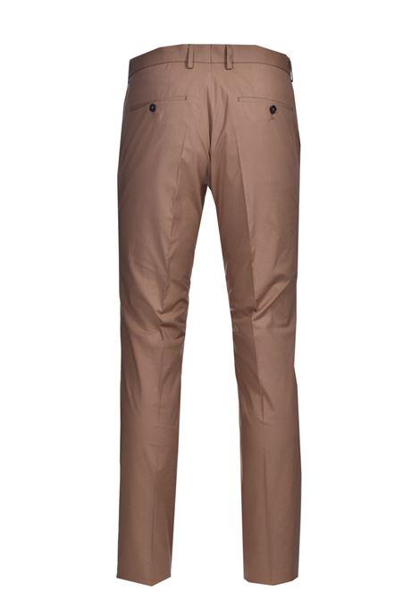 Pantaloni slim fit in cotone elasticizzato con piega BOSS | Pantaloni | 50453180268