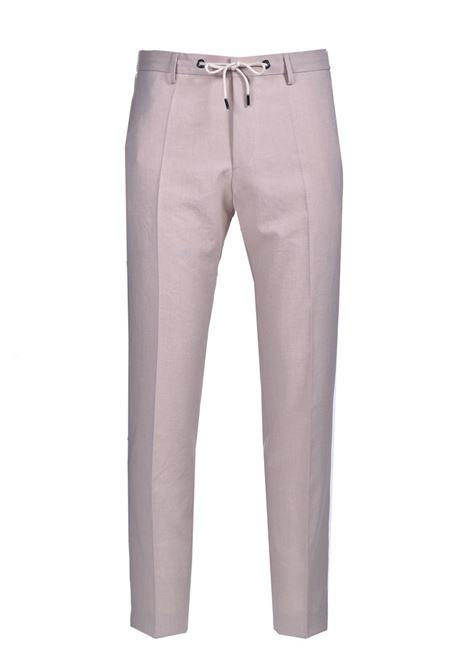 Pantaloni slim fit a vita alta in twill BOSS | Pantaloni | 50454795102