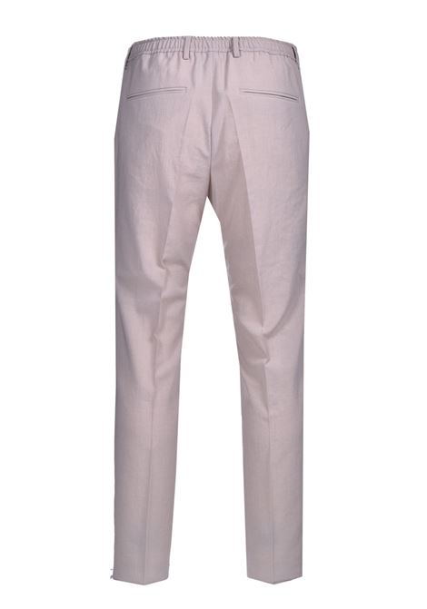 High-waisted slim fit twill trousers BOSS | Pants | 50454795102