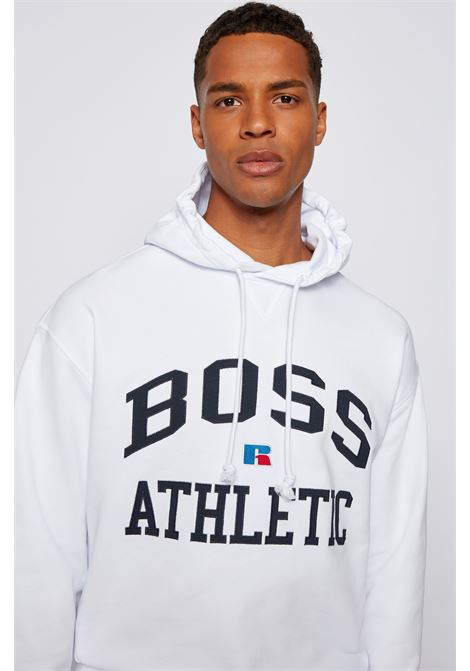Relaxed fit unisex sweatshirt in organic cotton with exclusive logo BOSS | Sweatshirt | 50455995100