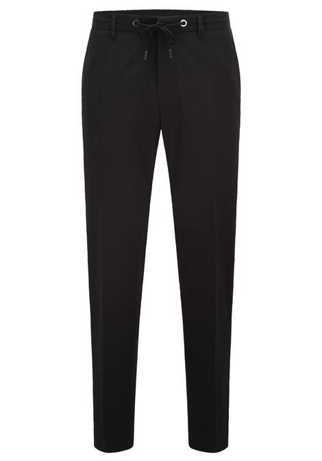 Pantaloni slim fit a vita alta in twill BOSS | Pantaloni | 50456174001