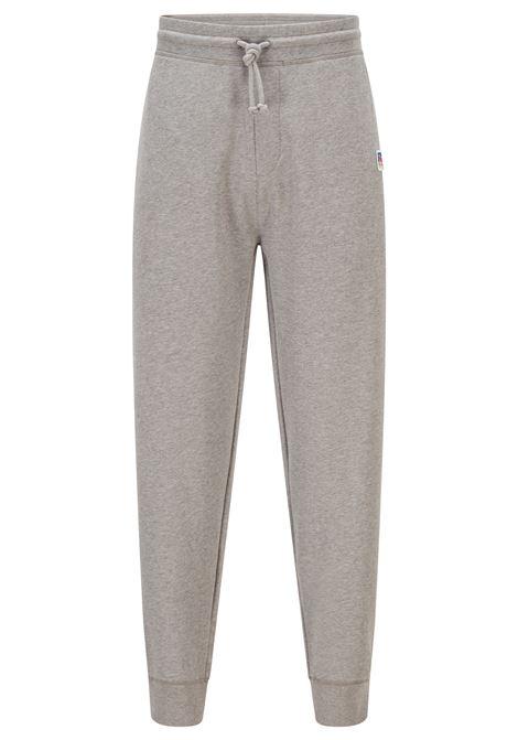 Organic cotton sweatpants with elastic leg bottom and exclusive logo BOSS | Sweatshirt | 50456903034