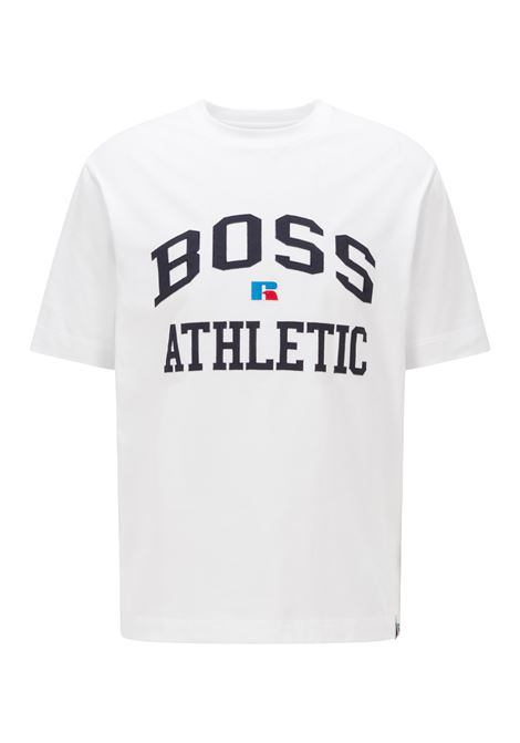 Relaxed fit unisex t-shirt in stretch cotton with exclusive logo BOSS | T-shirt | 50457336100