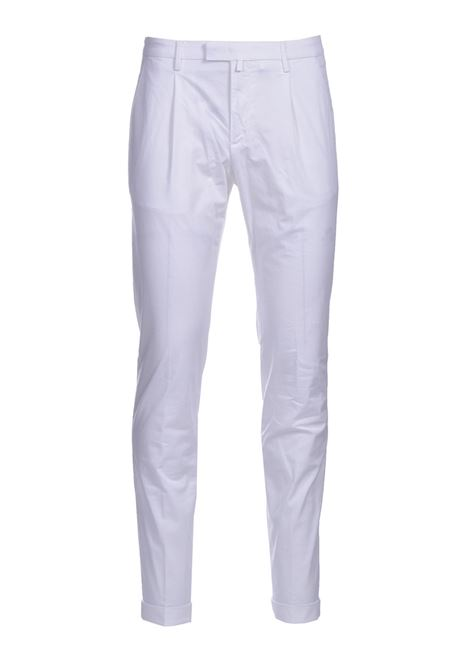 Slim fit chino trousers with pleats BRIGLIA | Pants | BG07 321127150