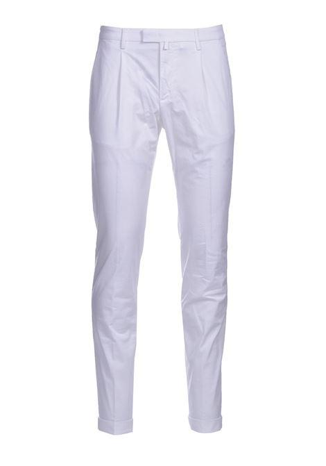 Pantalone chino slim fit con pinces BRIGLIA | Pantaloni | BG07 321127150