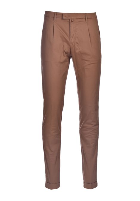 Slim fit chino trousers with pleats BRIGLIA | Pants | BG07 32112736
