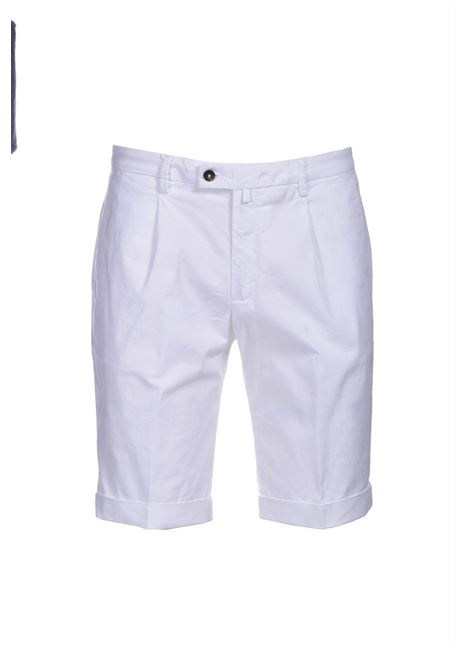 Slim fit chino bermuda shorts with pleats BRIGLIA | Bermuda | BG101 321127150