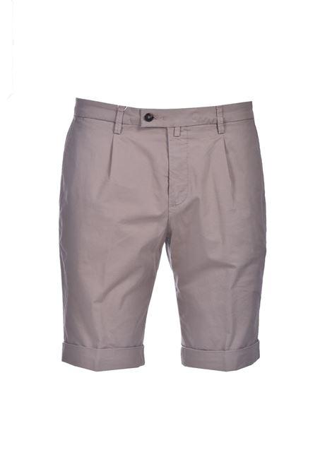 Slim fit chino bermuda shorts with pleats BRIGLIA | Bermuda | BG101 32112753