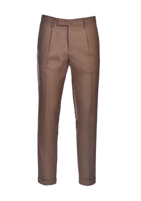 Slim fit wool trousers with turn-ups BRIGLIA | Pants | BG21W 32112173