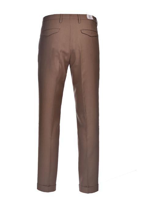 Pantalone in lana slim fit con risvolti BRIGLIA | Pantaloni | BG21W 32112173