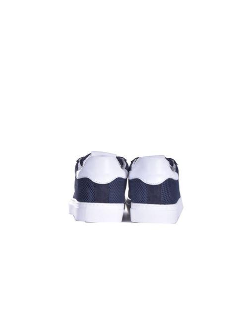 Sneakers basse in tela blu DANIELE ALESSANDRINI | Sneakers | F499N726410023