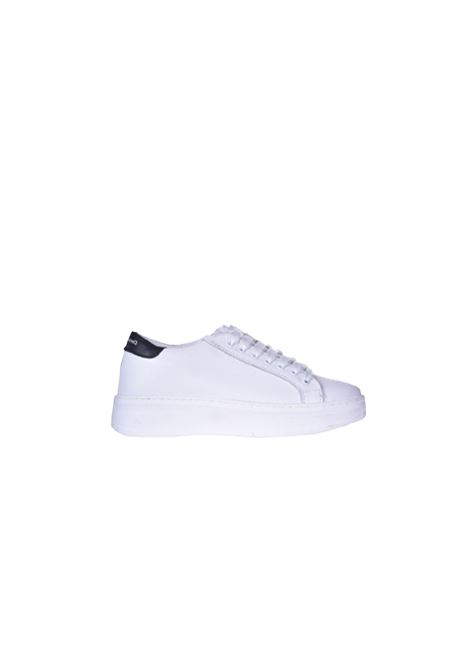 Sneakers basse in pelle bianca DANIELE ALESSANDRINI | Sneakers | F649KL16041002