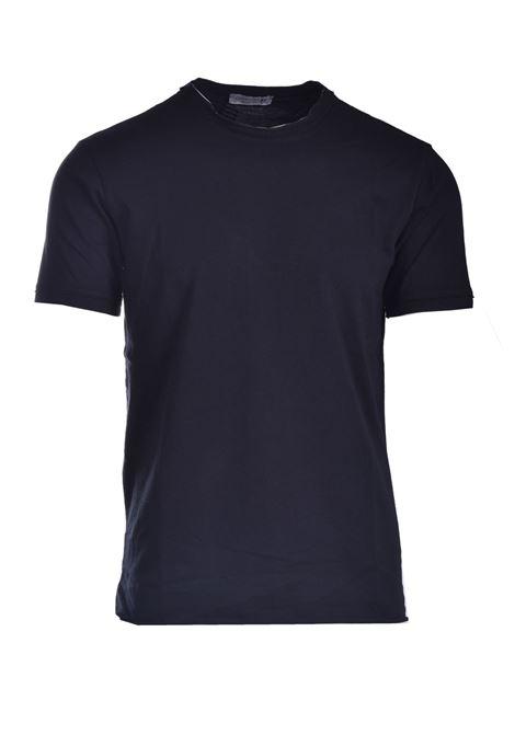 T-shirt con taglio vivo DANIELE ALESSANDRINI | T-shirt | M7316E64341021
