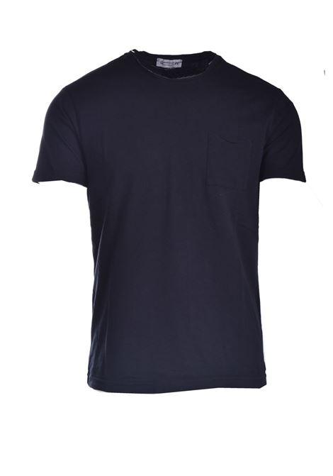 T-shirt with pocket DANIELE ALESSANDRINI | T-shirt | M7317E64341021