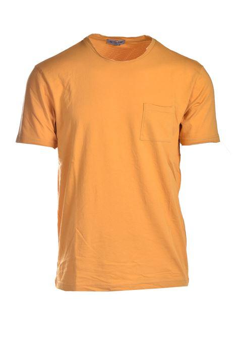 T-shirt with pocket DANIELE ALESSANDRINI | T-shirt | M7317E6434102113