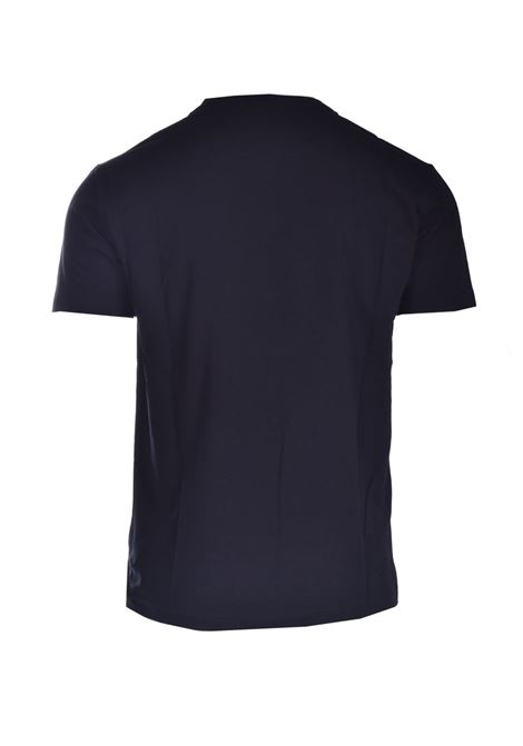 T-shirt in cotone stretch DANIELE ALESSANDRINI | T-shirt | M9187A3341001
