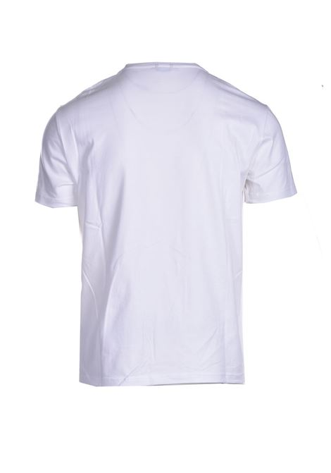 T-shirt in cotone stretch DANIELE ALESSANDRINI | T-shirt | M9187A3341002