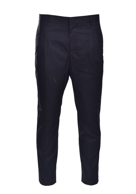 Poplin baggy trousers with pence DANIELE ALESSANDRINI | Pants | P3975N100641001