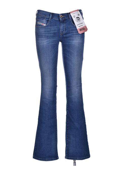 D-ebbey Jeans flare e bootcut blu medio DIESEL | Jeans | 00SMMV 086AM01