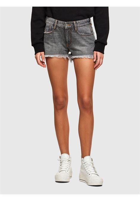 De-Rifty Shorts in denim grigio DIESEL | Shorts | 00SQQ3 0ABBT02