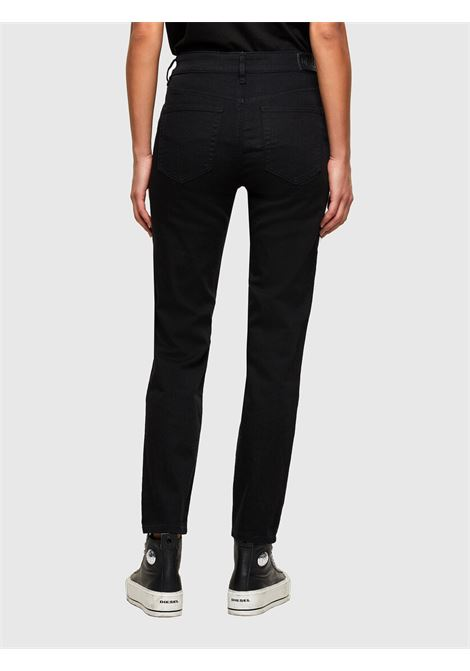 D-Joy Jeans slim con vita regular nero DIESEL | Jeans | A00004 009NV01