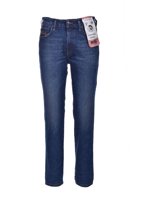 D-Joy Jeans slim con vita regular blu scurob DIESEL | Jeans | A00004 0688H02