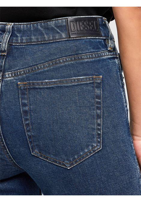 D-Joy Slim jeans with regular dark blue waist DIESEL | Jeans | A00004 0688H02