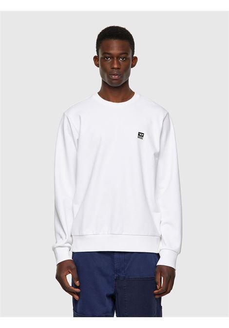 Sweatshirt with D logo application DIESEL | Sweatshirt | A00329 0HAYT100