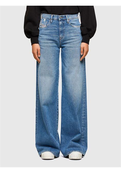 D-Akemi Jeans palazzo con vita regular blu chiaro DIESEL | Jeans | A00998 0099EU01