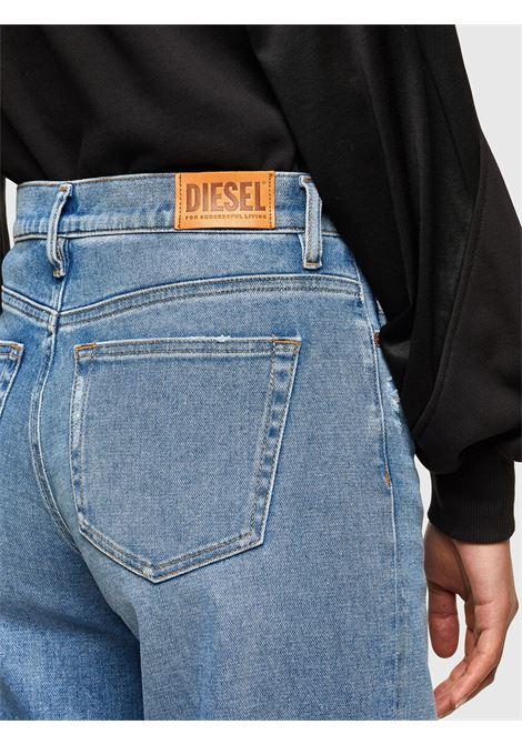 D-Akemi Light blue palazzo jeans with regular waist DIESEL | Jeans | A00998 0099EU01