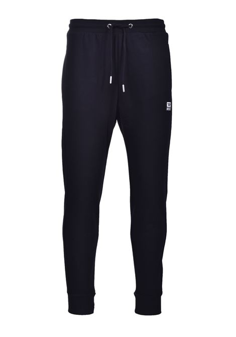 Pantaloni sportivi in misto cotone nero DIESEL | Pantaloni | A01124 0HAYT9XX
