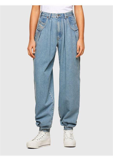 D-Concias Boyfriend jeans with regular light blue waist DIESEL | Jeans | A02010 009RQ08