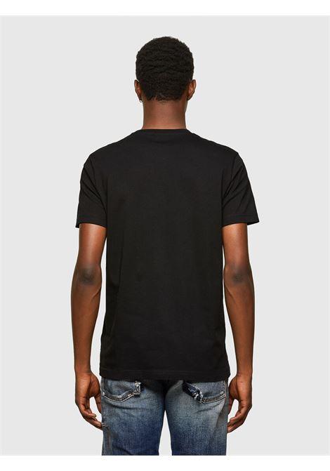 T-shirt con stampa del logo Diesel Industry DIESEL | T-shirt | A02070 0AAXJ9XX