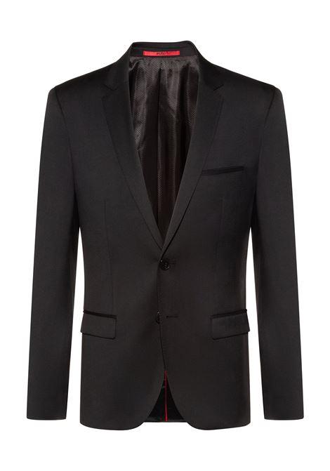 Giacca extra slim fit in twill di lana vergine HUGO | Giacche | 50375345001