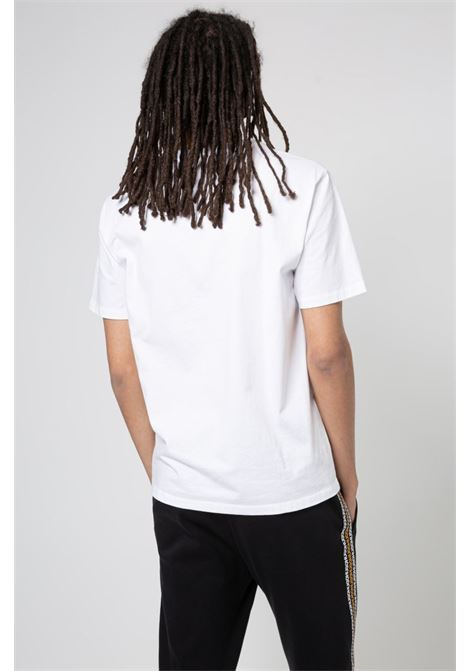 Regular fit T-shirt in organic cotton with logo in the center HUGO | T-shirt | 50448779100