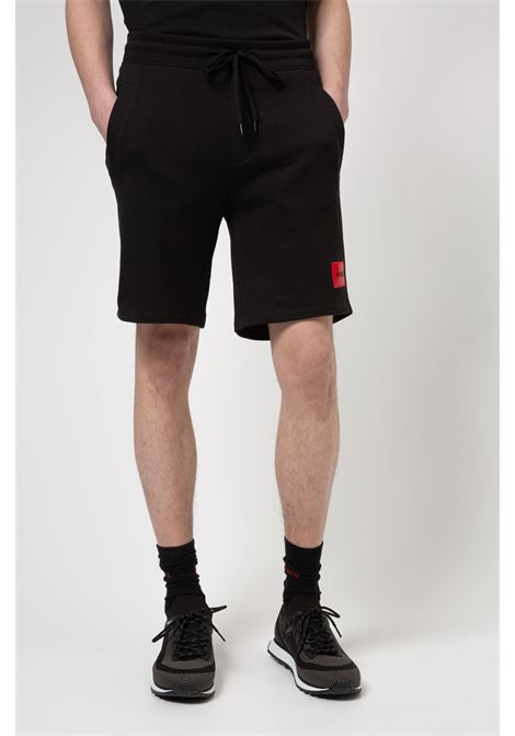 Relaxed fit cotton bermuda shorts HUGO | Bermuda | 50448937001