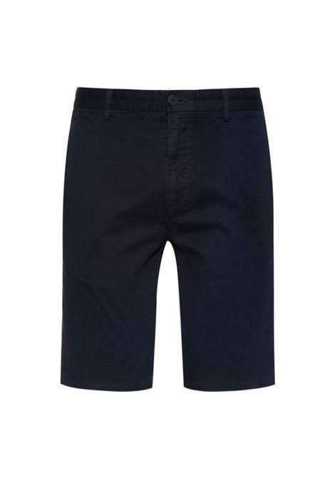 Bermuda slim fit in gabardine di cotone elasticizzato HUGO | Shorts | 50449556405