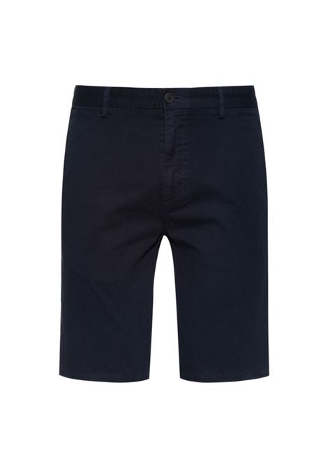 Slim fit Bermuda shorts in stretch cotton gabardine HUGO | Shorts | 50449556405