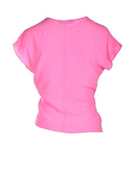 Pink silk crepe top JUCCA |  | J33120071701