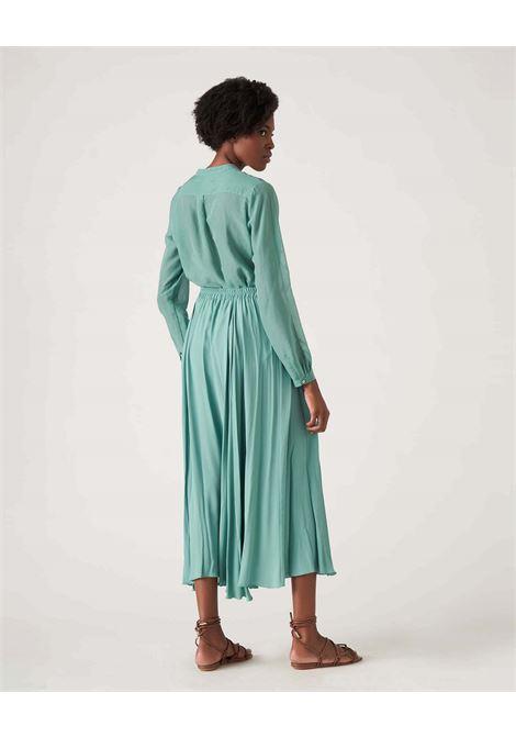 Shirt in cotton muslin and aurora silk JUCCA | Shirts | J3312113314