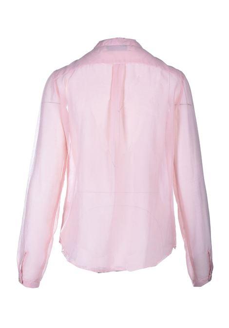 Camicia in mussola di cotone e seta smalto JUCCA | Camicie | J3312113358