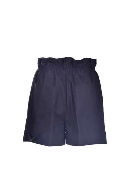 Black high-waisted cotton shorts JUCCA | Shorts | J3314012003