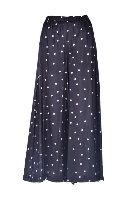 Wide trousers in light silk with polka dots JUCCA | Pants | J3314027003
