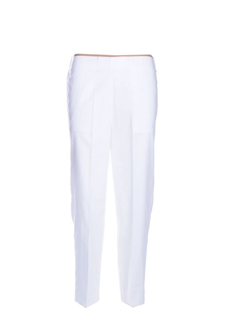 Cigarette trousers in cotton poplin JUCCA | Pants | J3314139001