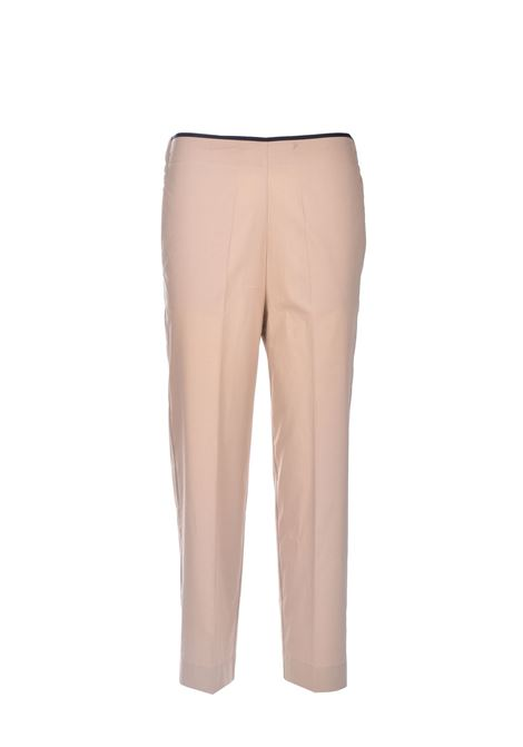 Cigarette trousers in cotton poplin JUCCA | Pants | J33141391159