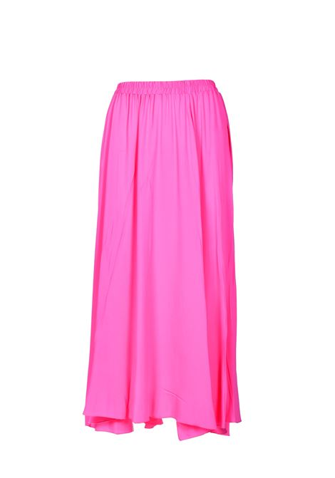 Long wide skirt with crepe elastic JUCCA | Skirts | J33150031701